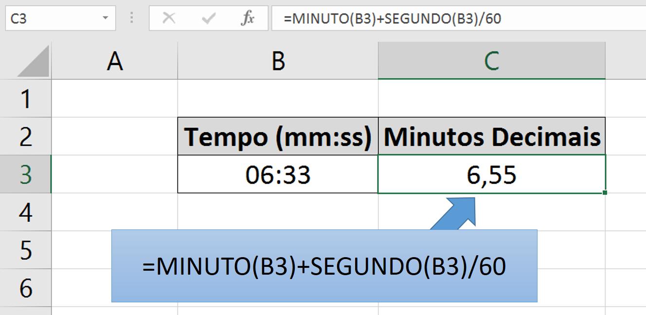 Tempo Decimal - Exemplo 2